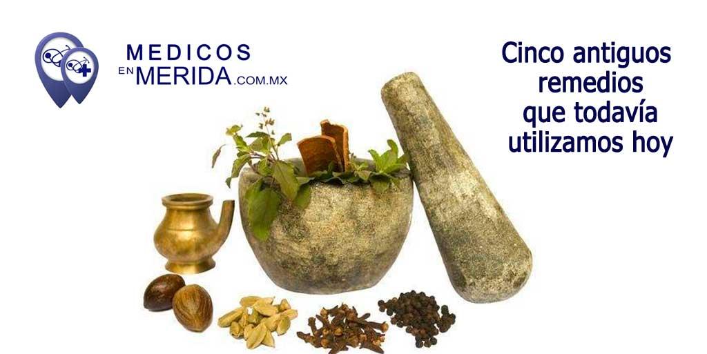 Cinco antiguos remedios que todavía utilizamos hoy