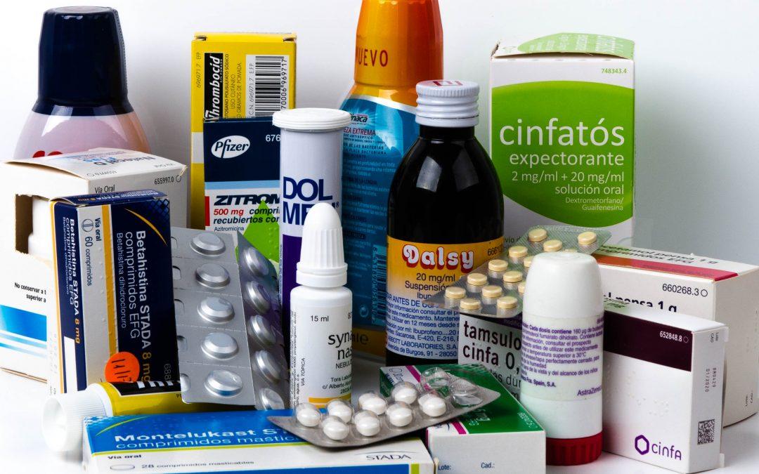 Vías para administrar los medicamentos: